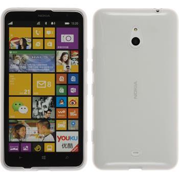 Silikon Hülle Lumia 1320 transparent weiß
