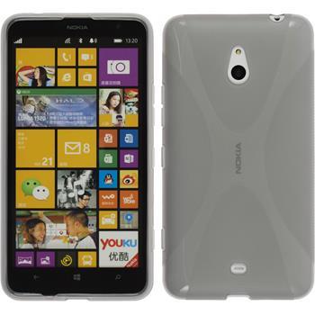 Silikon Hülle Lumia 1320 X-Style grau