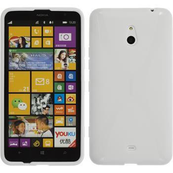 Silikon Hülle Lumia 1320 X-Style weiß