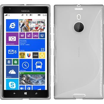 Silikon Hülle Lumia 1520 S-Style grau