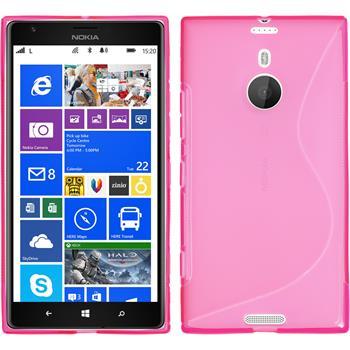 Silikon Hülle Lumia 1520 S-Style pink