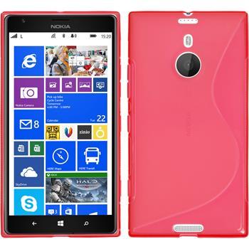 Silikon Hülle Lumia 1520 S-Style rot