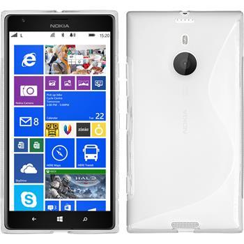 Silicone Case for Nokia Lumia 1520 S-Style transparent