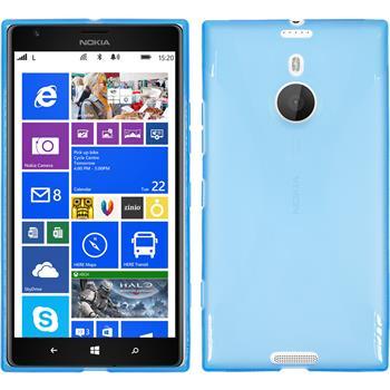 Silikon Hülle Lumia 1520 X-Style blau
