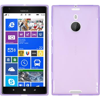 Silicone Case for Nokia Lumia 1520 X-Style purple