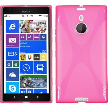 Silikon Hülle Lumia 1520 X-Style pink