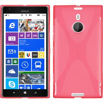 Silicone Case for Nokia Lumia 1520 X-Style red