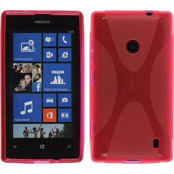 Silikon Hülle Lumia 520 X-Style pink