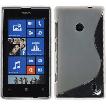 Silikon Hülle Lumia 525 S-Style clear