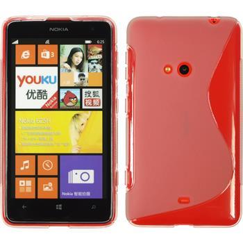Silikon Hülle Lumia 625 S-Style grau