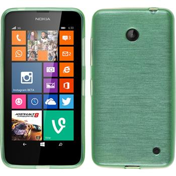 Silicone Case for Nokia Lumia 630 brushed green