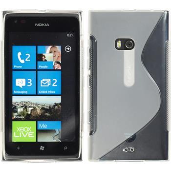 Silikon Hülle Lumia 900 S-Style clear
