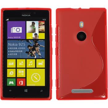 Silikon Hülle Lumia 925 S-Style rot
