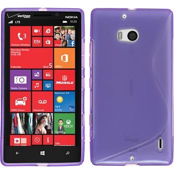 Silikon Hülle Lumia 930 S-Style lila