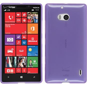 Silicone Case for Nokia Lumia 930 transparent purple