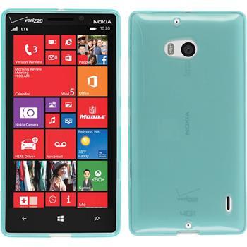 Silicone Case for Nokia Lumia 930 transparent turquoise