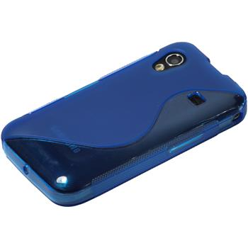Silicone Case for Samsung Galaxy Ace S-Style blue