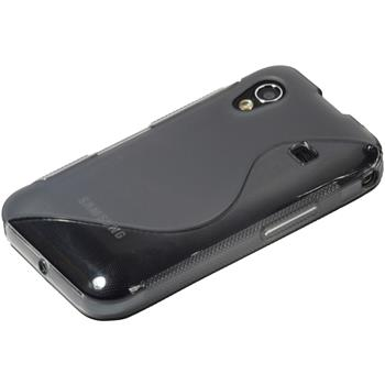 Silicone Case for Samsung Galaxy Ace S-Style gray