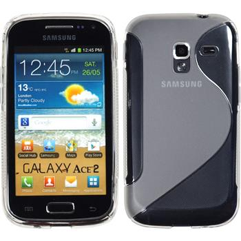 Silicone Case for Samsung Galaxy Ace 2 S-Style transparent