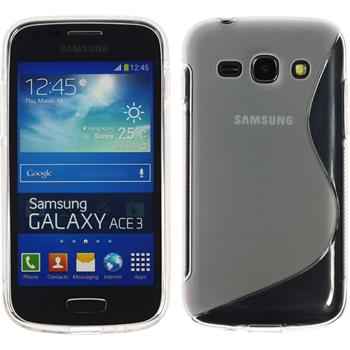Silicone Case for Samsung Galaxy Ace 3 S-Style transparent