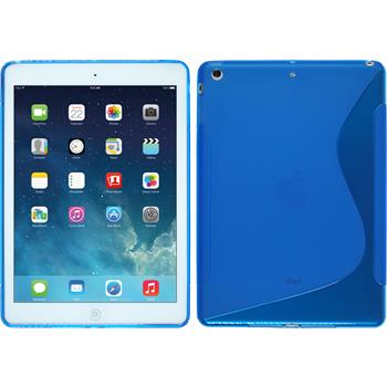 Silicone Case for Apple iPad Air S-Style blue