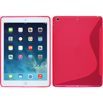 Silicone Case for Apple iPad Air S-Style hot pink