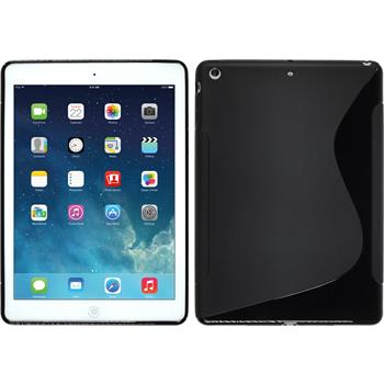 Silicone Case for Apple iPad Air S-Style black