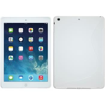 Silicone Case for Apple iPad Air S-Style white