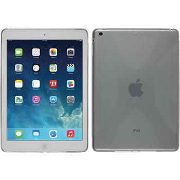 Silicone Case for Apple iPad Air X-Style gray