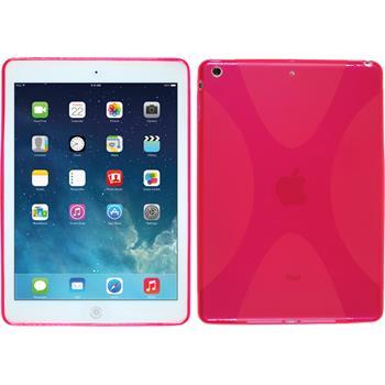 Silikon Hülle iPad Air X-Style pink