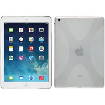 Silikon Hülle iPad Air X-Style clear