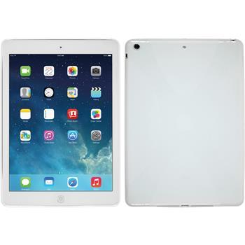 Silikon Hülle iPad Air X-Style weiß