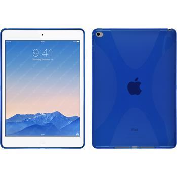 Silikonhülle für Apple iPad Air 2 X-Style blau