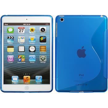 Silicone Case for Apple iPad Mini 3 2 1 S-Style blue