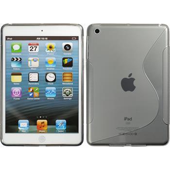 Silikonhülle für Apple iPad Mini 3 2 1 S-Style grau