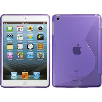 Silikonhülle für Apple iPad Mini 3 2 1 S-Style lila