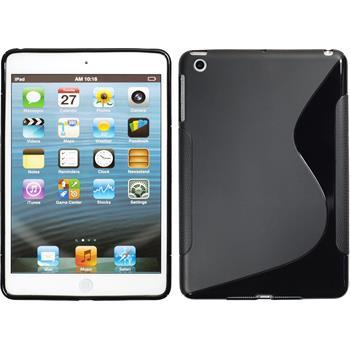Silicone Case for Apple iPad Mini 3 2 1 S-Style black