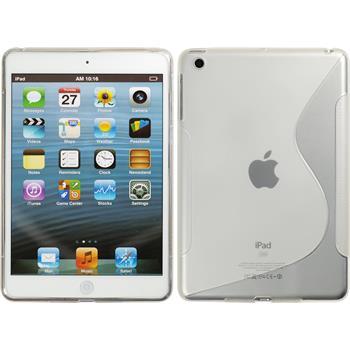 Silikonhülle für Apple iPad Mini 3 2 1 S-Style clear