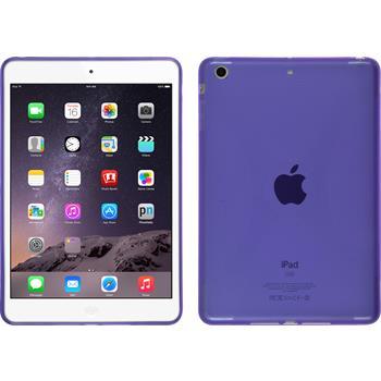 Silikon Hülle iPad Mini 3 2 1 X-Style lila