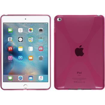 Silikon Hülle iPad Mini 4 X-Style pink