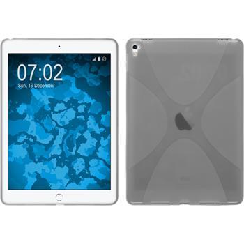 Silikon Hülle iPad Pro 9.7 X-Style grau