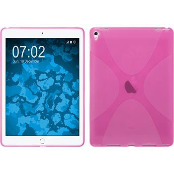 Silikon Hülle iPad Pro 9.7 X-Style pink