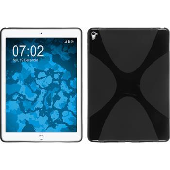Silikonhülle für Apple iPad Pro 9.7 X-Style schwarz