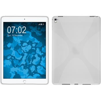 Silikonhülle für Apple iPad Pro 9.7 X-Style weiß