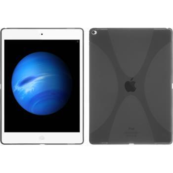 Silikon Hülle iPad Pro X-Style grau