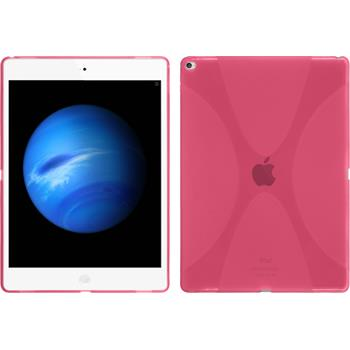 Silikon Hülle iPad Pro X-Style pink