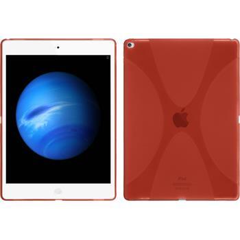 Silikon Hülle iPad Pro X-Style rot