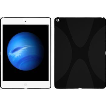 Silikon Hülle iPad Pro X-Style schwarz