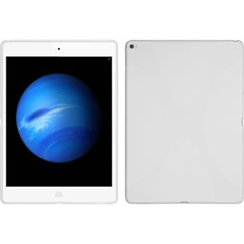Silikonhülle für Apple iPad Pro X-Style weiß
