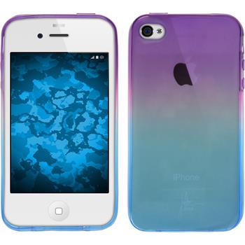 Silikon Hülle iPhone 4S Ombrè Design:04